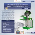 Jual Mesin Pengemas Produk Bentuk BUBUK (POWDER) GRANUL (BIJI-BIJIAN) di Yogyakarta