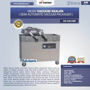 Jual Mesin Vacuum Sealer (DZ400/2SB) di Yogyakarta