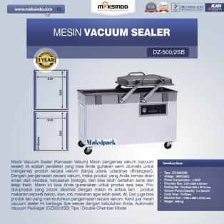 Jual Mesin Vacuum Sealer (DZ500/2SB) di Yogyakarta