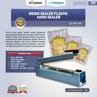 Jual Mesin Hand Sealer (MSP-400I) di Yogyakarta