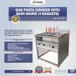 Jual Gas Pasta Cooker With Bain Marie (4 Baskets) MKS-PCBM4 di Yogyakarta