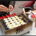 Jual Mesin Gas Quail Egg Grill (Mesin Kue Telur Puyuh) di Yogyakarta