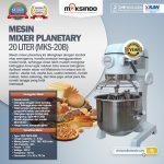 Jual Mesin Mixer Planetary 20 Liter (MKS-20B) di Yogyakarta