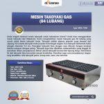 Jual Mesin Takoyaki Gas (84 Lubang) di Yogyakarta
