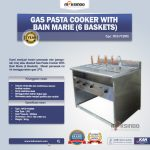 Jual Gas Pasta Cooker With Bain Marie (6 Baskets) MKS-PCBM6 di Yogyakarta