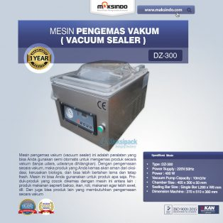 Jual Mesin Vacuum Sealer (DZ300) di Yogyakarta