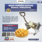 Jual Mesin Pengiris Kentang Manual Horizontal (KG-02) di Yogyakarta