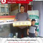 Jual Mesin Pemanggang Sate – BBQ 4 Tungku (Gas) di Yogyakarta