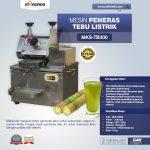 Jual Mesin Pemeras Tebu Listrik (MKS-TB300) di Yogyakarta