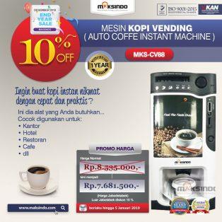 Jual Mesin Kopi Instant (Auto Coffee Instant Machine) MKS-CV88 di Yogyakarta