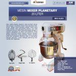 Jual Mesin Mixer Planetary 20 Liter (MKS-HLB20) di Yogyakarta
