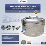 Jual Alat Es Krim Goyang MKS-55G di Yogyakarta