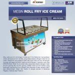 Jual Mesin Roll Fry Ice Cream RIC50x2 di Yogyakarta