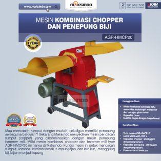 Jual Mesin Kombinasi Chopper dan Penepung Biji (HMCP20) di Yogyakarta