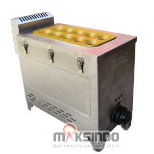 Mesin Pembuat Egg Roll (Gas) GRILLO-12SS di Yoyakarta