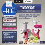 Jual Mesin Es Krim Buah Rumah Tangga di Yogyakarta