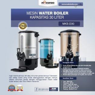 Jual Mesin Water Boiler 16 Liter (MKS-D20) di Yogyakarta