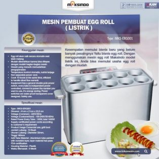 Diskon 10% Mesin Pembuat Egg Roll (Listrik) di Yogyakarta