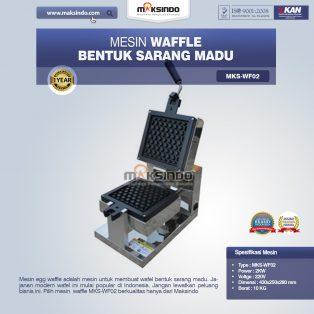 Jual Mesin Waffle Bentuk Sarang Madu MKS-WF02 di Yogyakarta