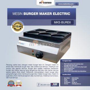 Jual Burger Maker Electric MKS-BURE6 di Yogyakarta