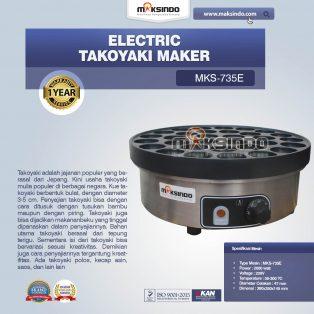 Jual Electric Takoyaki Maker MKS-735E di Yogyakarta