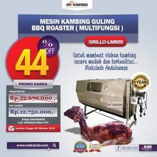 Jual Mesin Kambing Guling Double Location Roaster (GRILLO-LMB55) di Yogyakarta