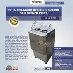Jual Mesin Perajang Keripik Kentang dan French Fries MKS-CT50 di Yogyakarta