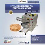 Jual Mesin Roti Pita/Tortilla/Chapati MKS-TRT55 di Yogyakarta