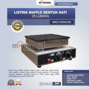 Jual Listrik Waffle Bentuk Hati 25 Lubang MKS-HSW25E di Yogyakarta