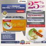 Jual Egg Roll Gas 10 Lubang GRILLO-GS10 di Yogyakarta