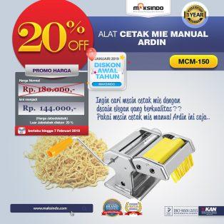 Jual Cetakan Mie Manual Rumah Tangga ARDIN di Yogyakarta