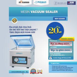 Jual Mesin Vacuum Sealer ( MSP-DZ260B) di Yogyakarta