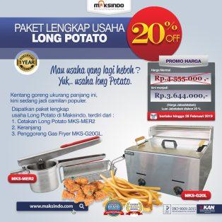 Jual Paket Mesin Long Potato Kentang Panjang di Yogyakarta