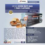 Jual Mesin Oven Gas 2 Loyang (MKS-GO12) di Yogyakarta