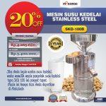 Jual Mesin Susu Kedelai Stainless (SKD-100B) di Yogyakarta
