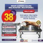Jual Mesin Kambing Guling BBQ Roaster (GRILLO-LMB11) di Yogyakarta