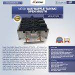 Jual Mesin Gas Waffle Taiyaki Open Mouth (GTYK31) di Yogyakarta