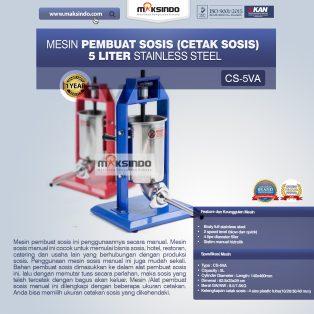 Jual Mesin Pembuat Sosis (Cetak Sosis) Stainless Steel di Yogyakarta