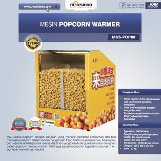 Jual Mesin Popcorn Warmer (POP88) di Yogyakarta