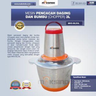 Jual Mesin Pencacah Daging dan Bumbu MKS-BLD3L di Yogyakarta