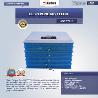 Jual Mesin Penetas Telur AGR-TT720 di Yogyakarta