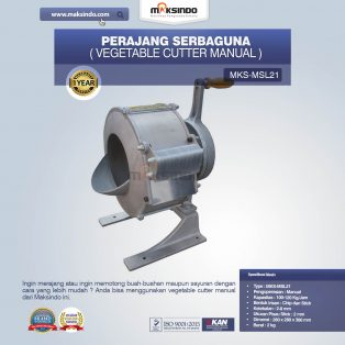 Jual Vegetable Cutter Manual MKS-MSL21 di Yogyakarta