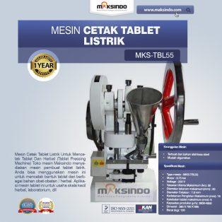 Jual Mesin Cetak Tablet Listrik – TBL55 di Yogyakarta