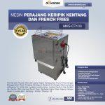 Jual Mesin Perajang Keripik Kentang dan French Fries – MKS-CT100 di Yogyakarta