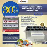 Jual Mesin Pembuat Egg Roll (Listrik) di Yogyakarta