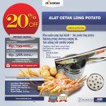 Jual Alat Cetak Long Potato MKS-LPCT30 di Yogyakarta