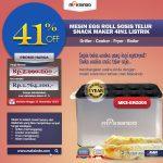 Jual Mesin Egg Roll Sosis Telur Snack Maker 4in1 Listrik MKS-ERG005 di Yogyakarta