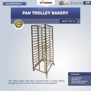 Jual Pan Trolley Bakery (MKS-TRY16) di Yogyakarta