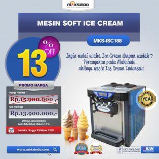 Jual Mesin Soft Ice Cream ISC-188 di Yogyakarta