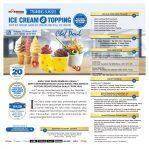 Training Usaha Ice Cream dan Topping, Minggu 22 Maret 2020